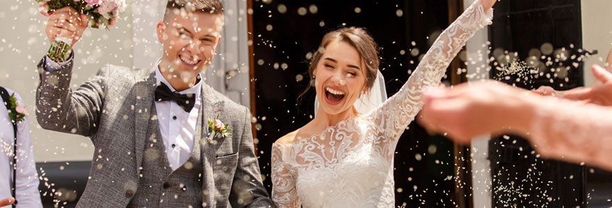 Décoration de fête de mariage